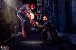Spiderman & Punisher